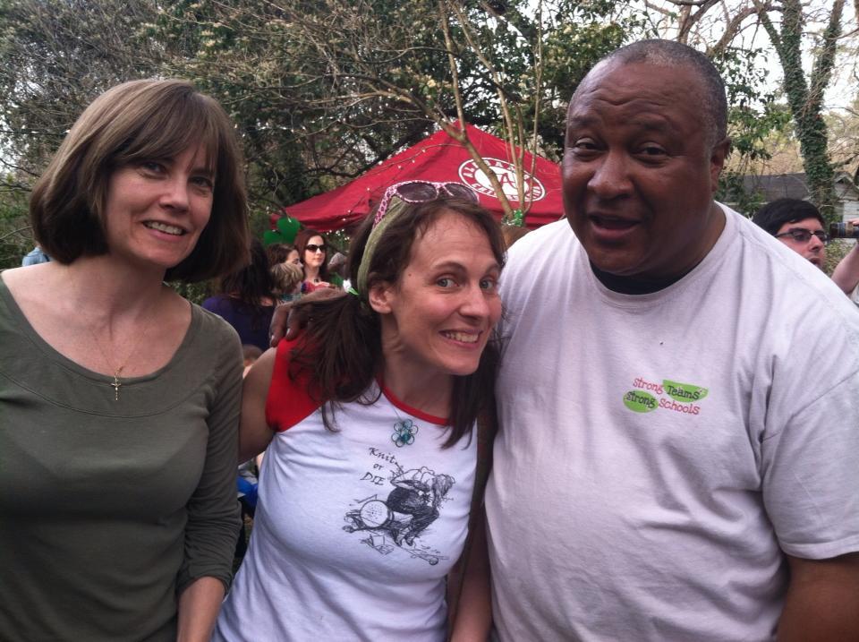 Kelly Horwitz, Loretta Lynn, & Marvin Lucas